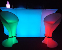 LED multi color light bright furniture for saloon, bar, pub portable bar counter/bar counter furniture