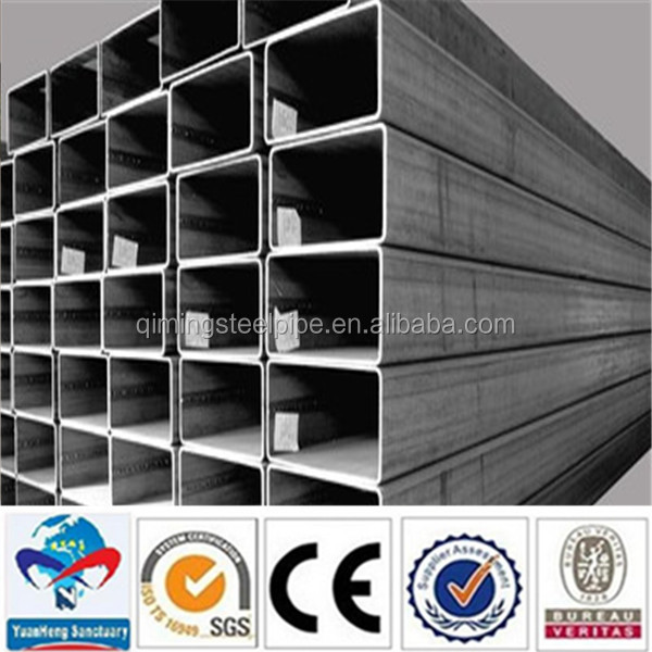 galvanized square pipe/round pipes/rectangle steel pipe and tubes factory