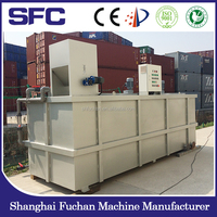 Stainless steel auto polymer preparation and dosing system for municipal wastewater treatment (PL series)