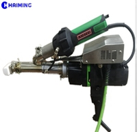 Hot selling China Haiming HDPE PVC PE PP Hot air plastic welding gun