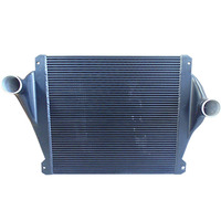 Cooling system universal intercooler core