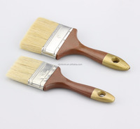 Brown Hanlde With Golden Tip wood Painting Brush