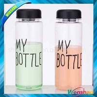 Fashion Today Special My Bottle Hot Cold Fruit Juice Glass Water Cup Sports Bottle