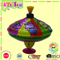 big Humming top with melody sound tin toy
