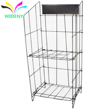 China manufacturer wholesale cheap warehouse stable storage stand floor standing heavy duty metal wire canoe rack
