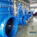Ductile iron flexible wedge gate valve from chinese supplier