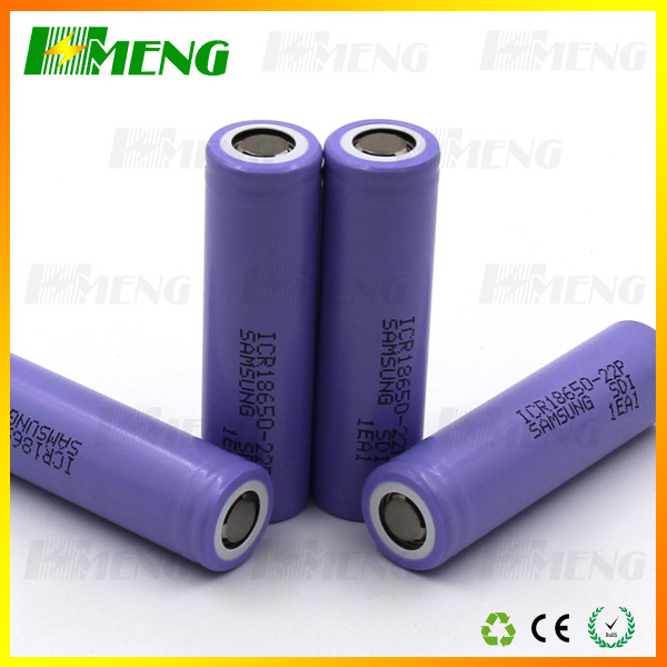 High quality 18650 battery 2200mah with CE RoHs certification