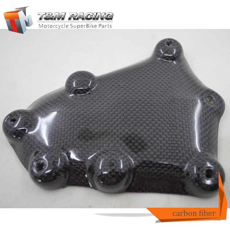For YBR 125 Motorcycle Fairing Carbon Fiber Motorcycle Headlight Cover