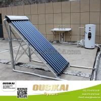 Europe type split solar water heater system with heat pipe for home/hot water geyser