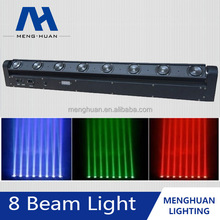sharpy beam rgbw led dmx light 8x10w moving head bar beam