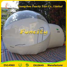 Commercial transparent inflatable belly bubble tree tent offer you a dreamy space without disturbing the nature and environment