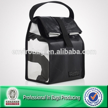 Lead Free 80% Post-consumer RPET Fabric Cooler Lunch Bag For Promotion
