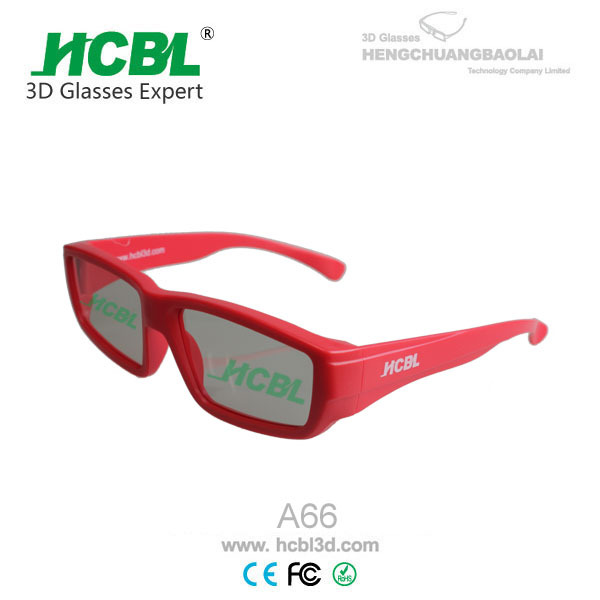 xnxxx low price plastic polarized 3D glasses tv