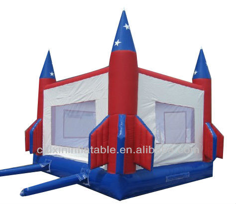 inflatable bouncer rocket boucy jump