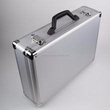 OEM Manufacturer fashionable custom portable aluminum sample carrying case for display purpose