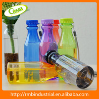 Clear Plastic soda bottles