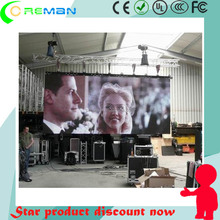 Rental p6 outdoor led display timer / double sided led tv screen indoor p4mm / p10 panel led full color Nova