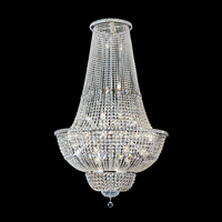Silver European Classical Hotel Lobby Chandelier Pendant Lights