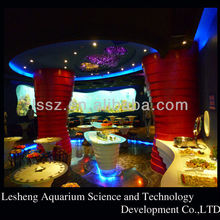Cast Custom Acrylic Aquarium Acrylic Fish Tank