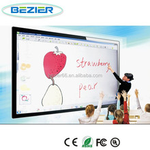 82 inch mobile stand interactive whiteboard for smart school with online
