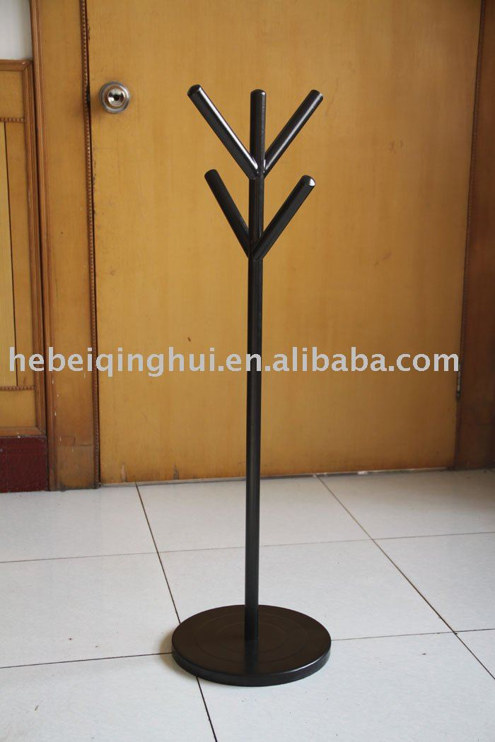 Small Metal Coat Rack Tree