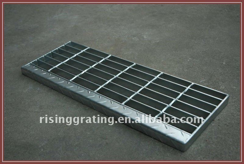 composite steel stair tread