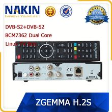Genuine Zgemma star 2S twin tuner DVB-S2 linux tv box