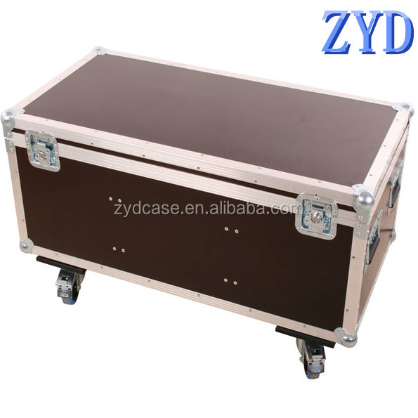 Best quality aluminum tools storage box, metal tool box with wheels, durable and shatterproof case (ZYD-GJ8716)