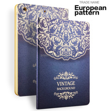 factory cheap price for ipad mini PU smart case cover