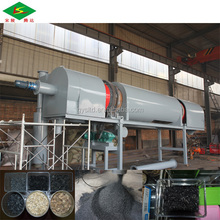 Continuously type Jute stick charcoal furnace/ charcoal powder making machine