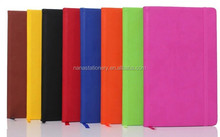 Elastic band pu cover notebook/diary book/notepad NSPZ-2021
