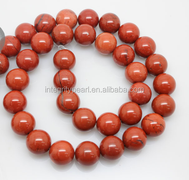 8mm round jewelry accessory natural redstone gemstone string