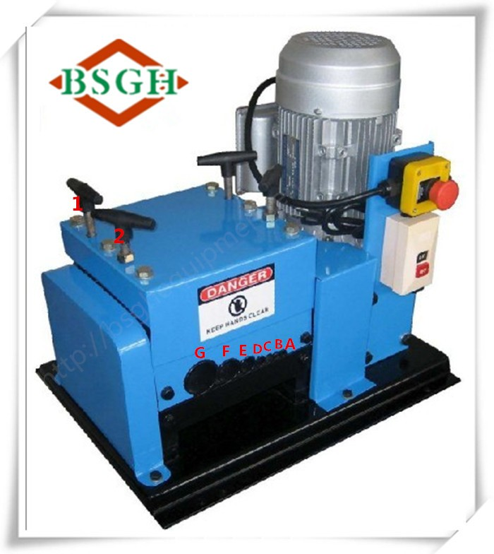 High output electrical wire making machine power cable wire cutting machine for sale