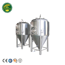 1000L Food Grade Stainless Steel Dimple Plate Jacket Fermentation Tanks