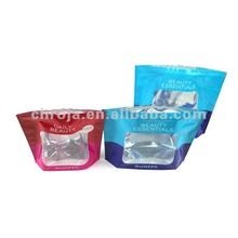 Food Grade With Window Transparent Tri Laminate Bags
