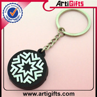 High end custom plastic keychain photo holder