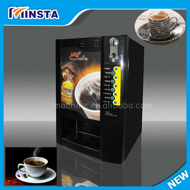 Italy style automatic espresso coffee machine with ABS outer shell silver cover