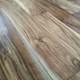 factory direct sale Natural wood UV Lacquer finish Handscraped solid acacia wood flooring