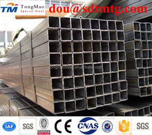 Hollow section ms steel square pipe/hot dip galvanized squre pipe