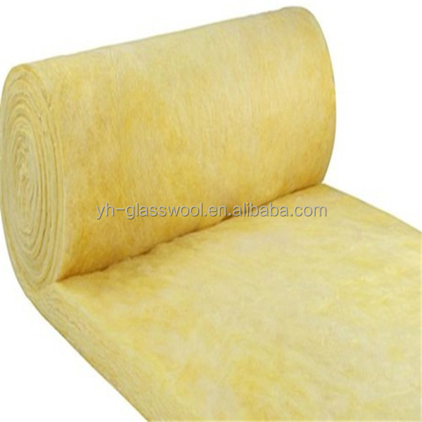Heat Insulation Roofing Materials Sound Isolation Glass Wool