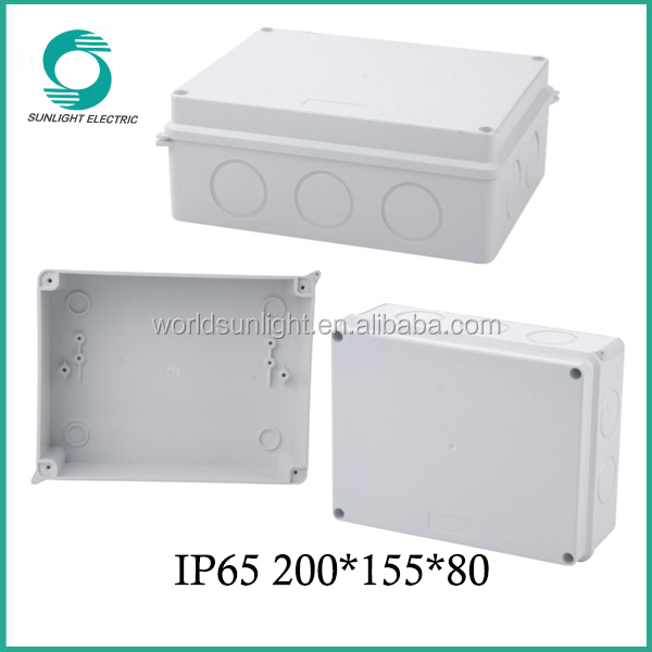 fireproof ABS enclosure plastic connection box