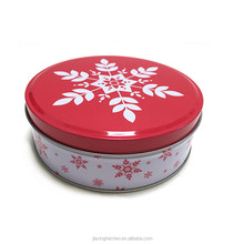 Promotion metal tin can / Round metal candy box