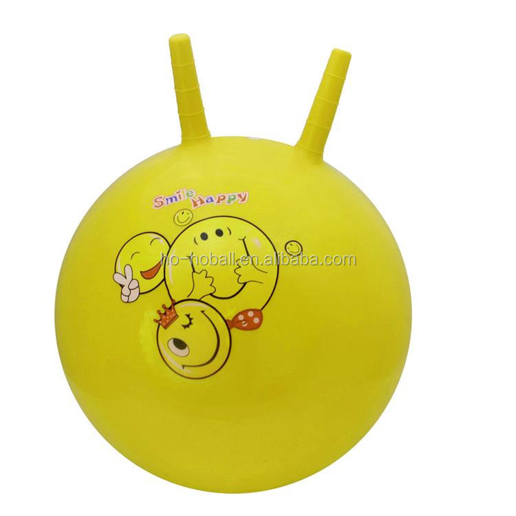 Space hopper ball - bouncing ride-on ball with pump