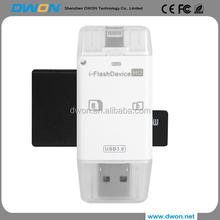 USB 3.0 flash drive 3 in 1 flash drive usb flash drive card reader iflash device for trial camera