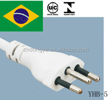 UC approval 10A 250V 3pin power cord