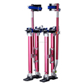 "18"" - 30"" Red Drywall Stilts Adjustable Aluminum 1118"