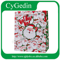 Funny color printed Christmas Gift Bags Wholesale