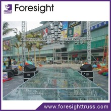 Foresight mobile stage with DJ booth/event stage/stage light