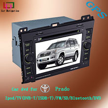 car dvd player tv tuner for toyota prado