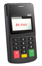 Small 3 in 1 MSR+EMV+NFC reader mPOS with Bluetooth passed Visa, Master certification